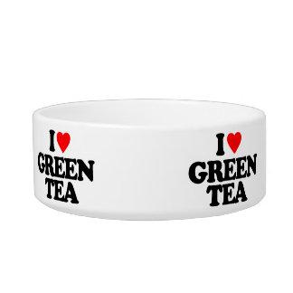 I LOVE GREEN TEA BOWL