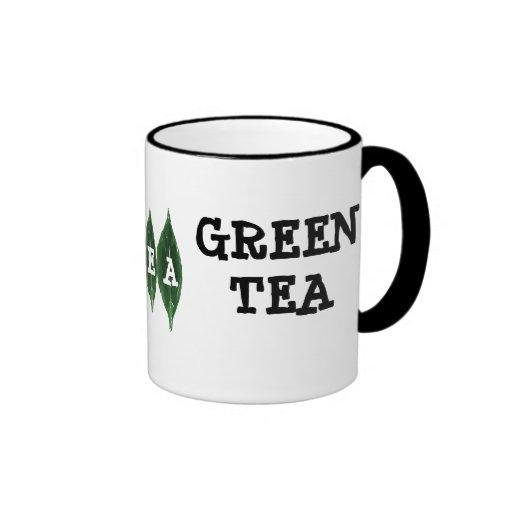 I Love Green Tea Mug - Customisable Mug