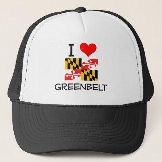 I Love Greenbelt Maryland Trucker Hat