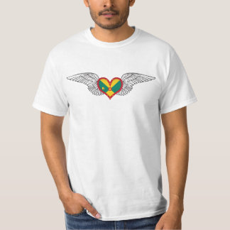 I Love Grenada -wings T-Shirt
