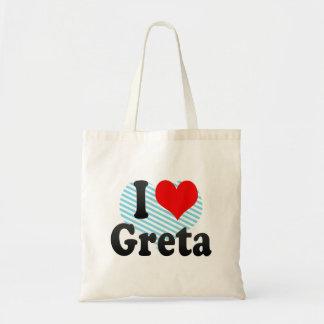 I love Greta Bags