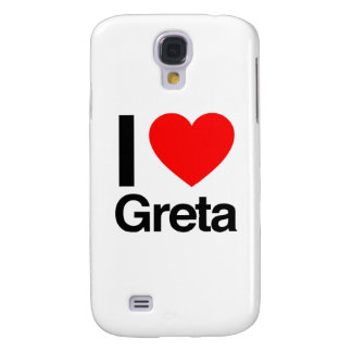 i love greta galaxy s4 case