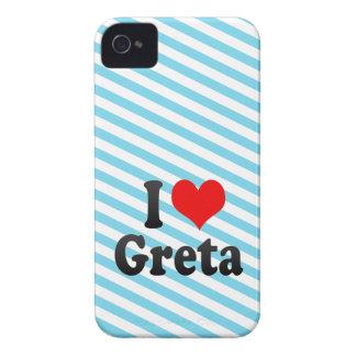I love Greta Blackberry Bold Cover