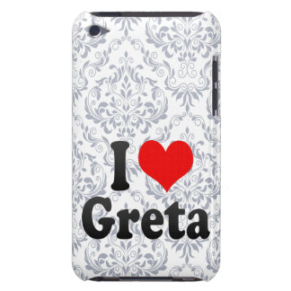 I love Greta Barely There iPod Covers