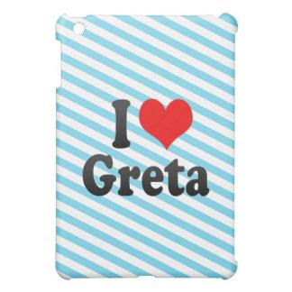 I love Greta iPad Mini Covers