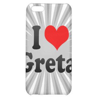I love Greta iPhone 5C Cover