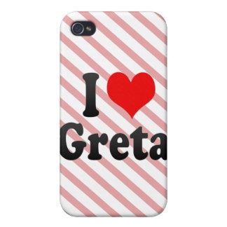 I love Greta Case For iPhone 4