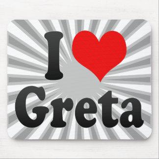 I love Greta Mousepad