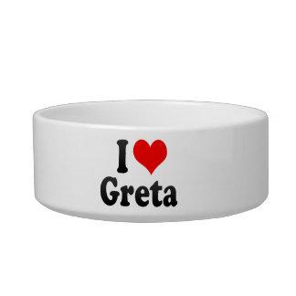 I love Greta Pet Water Bowls