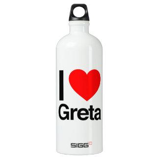 i love greta SIGG traveller 1.0L water bottle