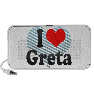 I love Greta iPhone Speaker