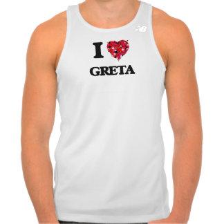 I Love Greta T Shirts