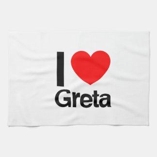 i love greta kitchen towels