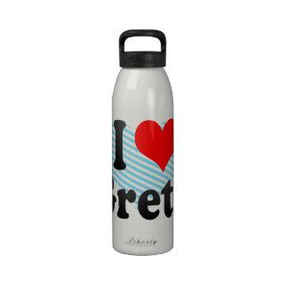 I love Greta Water Bottle