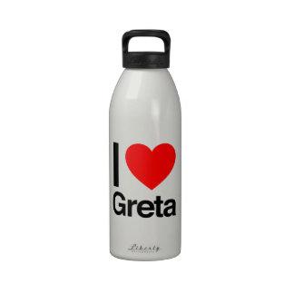 i love greta drinking bottles