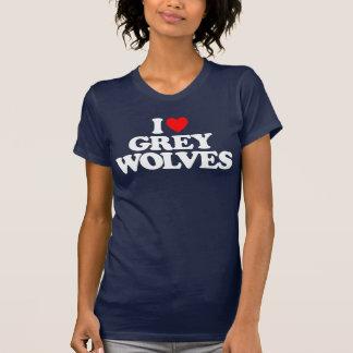 I LOVE GREY WOLVES SHIRTS
