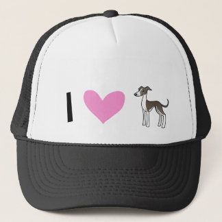 I Love Greyhounds / Whippets / Italian Greyhounds Trucker Hat
