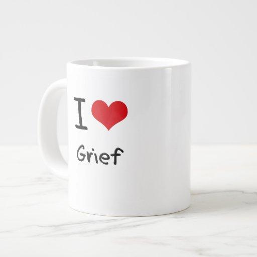 I Love Grief Extra Large Mug
