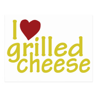I Love Grilled Cheese Postcard