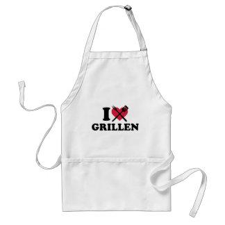 I love Grillen Aprons