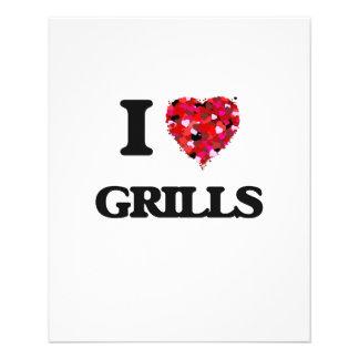 I Love Grills 11.5 Cm X 14 Cm Flyer