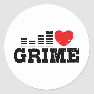 I Love Grime Stickers