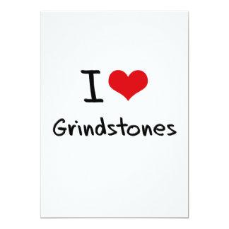 "I Love Grindstones 5"" X 7"" Invitation Card"
