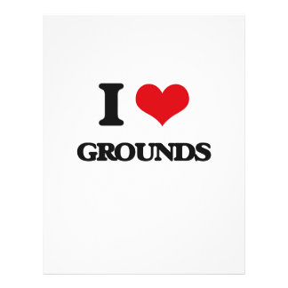 I love Grounds Personalized Flyer