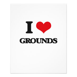 I love Grounds Flyer