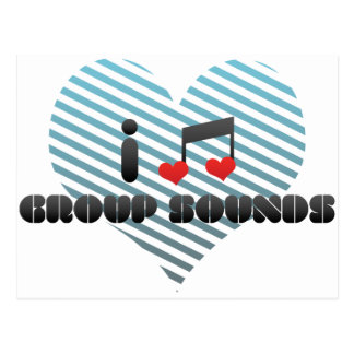 I Love Group Sounds Post Cards
