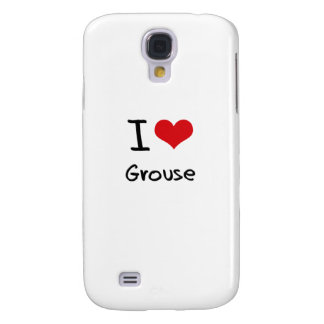 I Love Grouse Samsung Galaxy S4 Covers