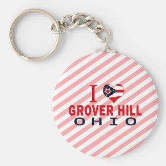 I love Grover Hill Ohio Keychains