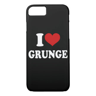 I Love Grunge iPhone 7 Case