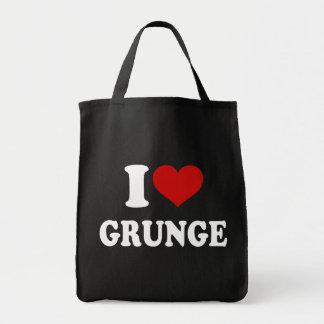 I Love Grunge Tote Bag