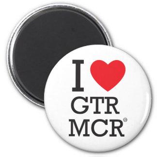 I love GTR MCR 6 Cm Round Magnet