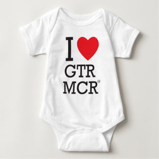 I love GTR MCR Baby Bodysuit