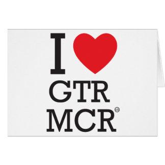 I love GTR MCR Card