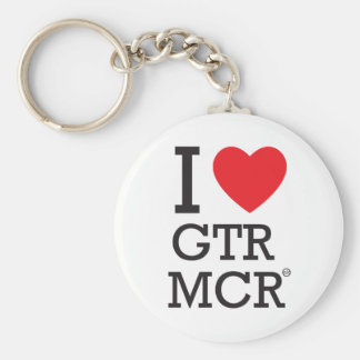 I love GTR MCR Key Ring