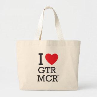 I love GTR MCR Large Tote Bag
