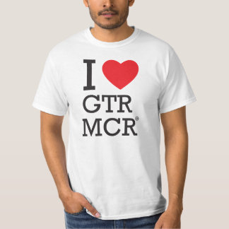 I love GTR MCR T-Shirt