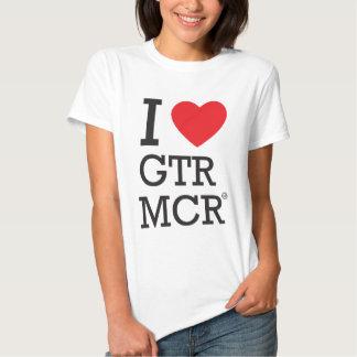I love GTR MCR T Shirts