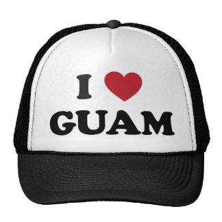 I Love Guam Cap