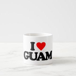 I LOVE GUAM ESPRESSO CUP