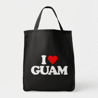 I LOVE GUAM TOTE BAG