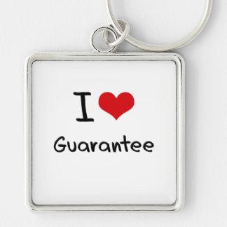 I Love Guarantee Keychain