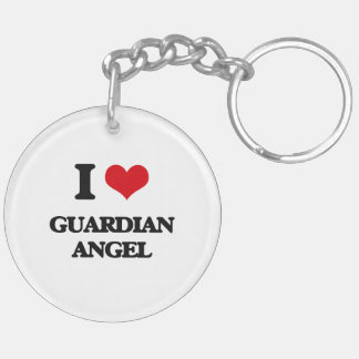 I love Guardian Angel Acrylic Keychains