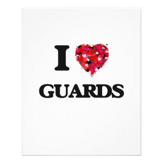I love Guards 11.5 Cm X 14 Cm Flyer