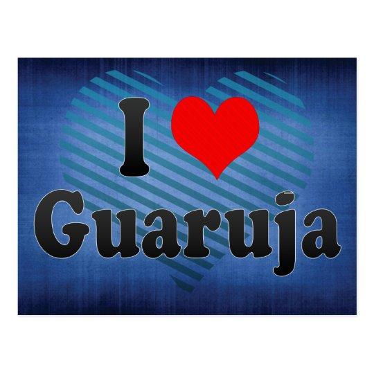 I Love Guaruja, Brazil Postcard