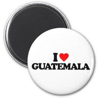 I LOVE GUATEMALA MAGNET