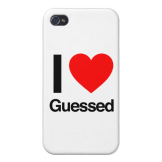 i love guessed case for the iPhone 4